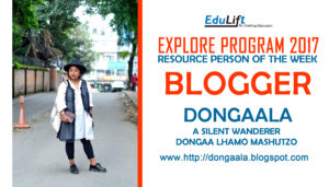 Blogger Dongaala During Explore Program 2017